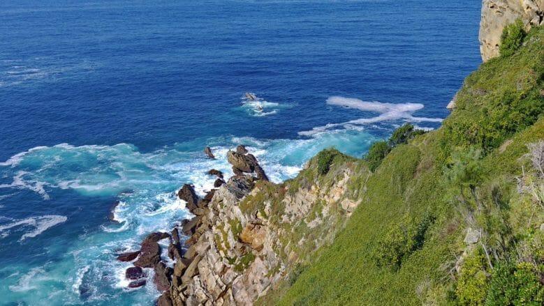 Die Küste am Park San Anton Mendia