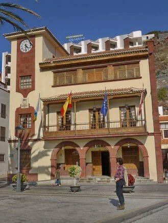 Das Rathaus in den San Sebastian de la Gomera