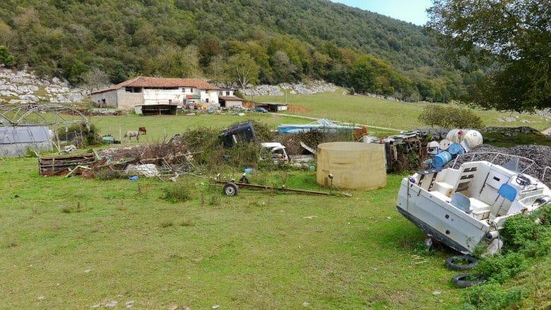 Landwirtschaft und mehr im Tal vom Oma