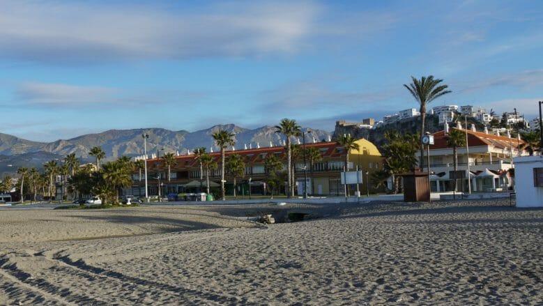 Apartmenthäuser am Strand