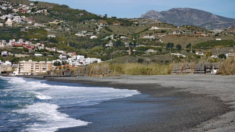 Küstenlandschaft westlich von Salobreña