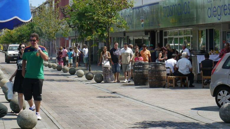 Im Fischerviertel Barrio Pesquero gibt es gut Fischrestaurants