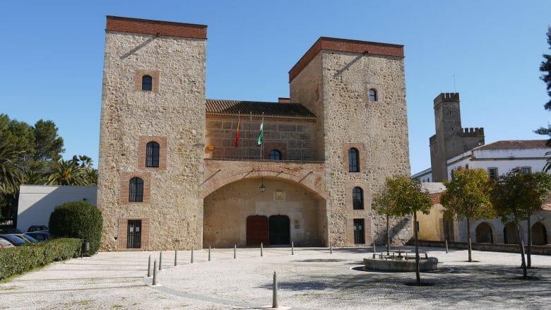 Der Palast der Condes de la Roca in Badajoz