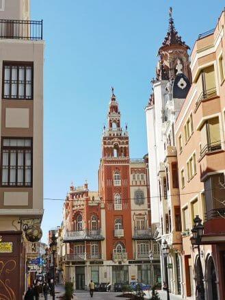 """Die """"Giralda"""" im Zentrum von Badajoz"""