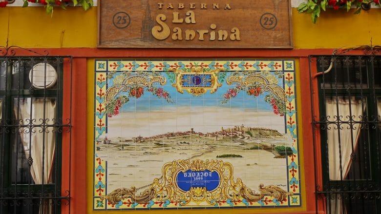 Taberna La Santina in Badajoz