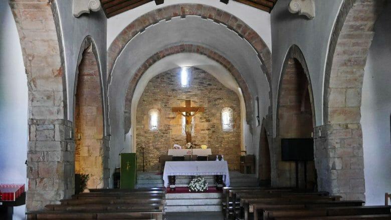 O Cebreiro Kirche