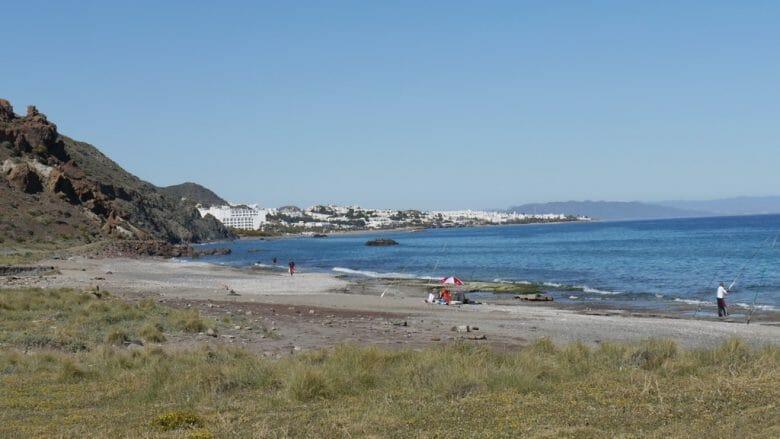 Playas de Macenas bei Mojácar Anfang April