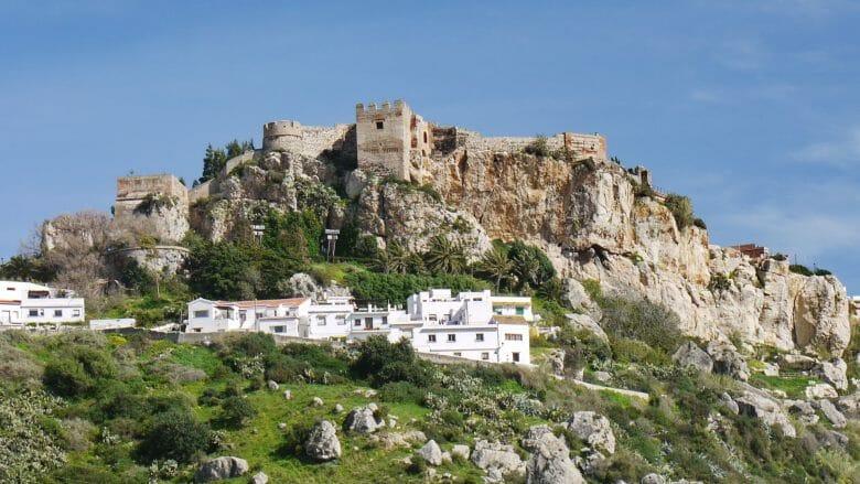 Die maurische Burg von Salobreña