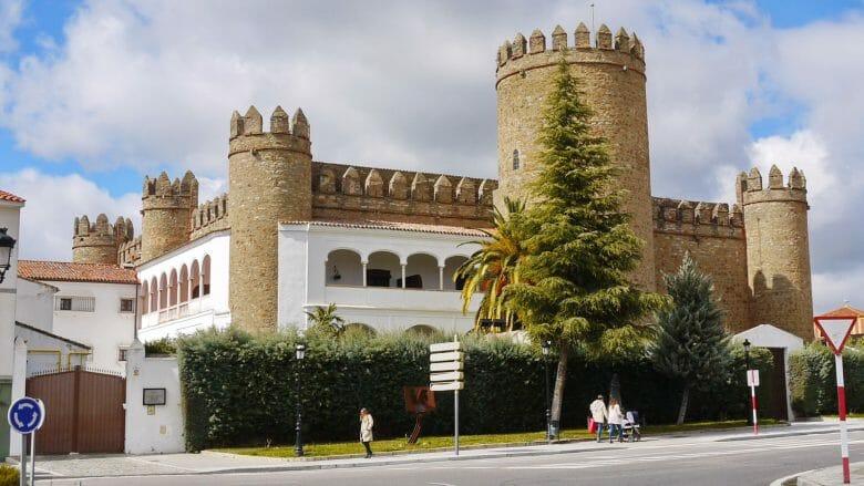 Alcázar von Zafra (Extremadura)