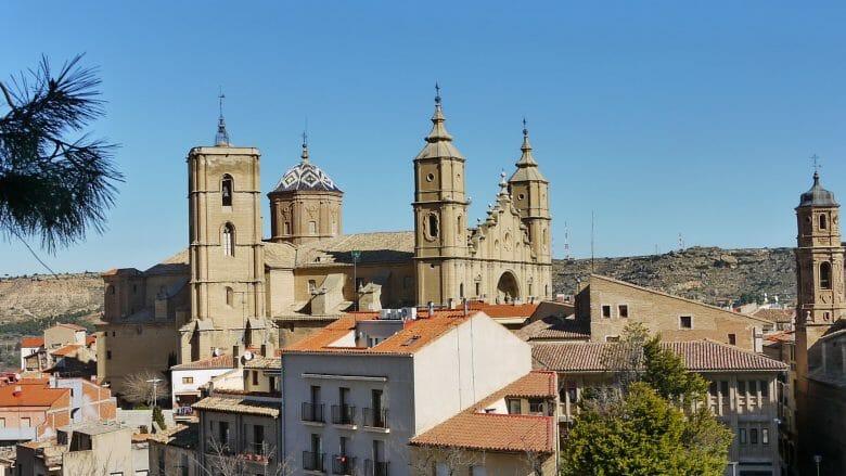 Die Kirche Santa María la Mayor in Alcañiz