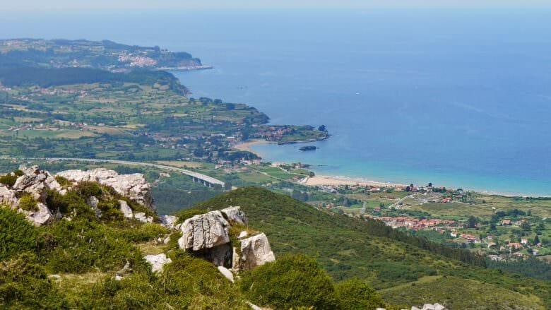 Blick auf die Costa Verde (Asturien)
