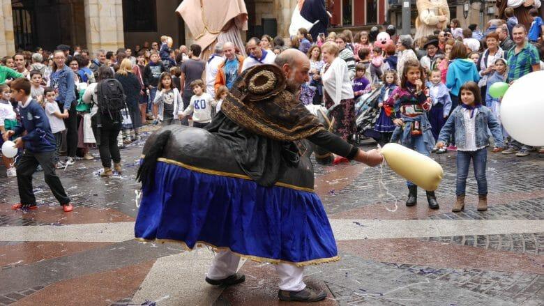 Fiesta San Fausto: Fest in Durango im Baskenland