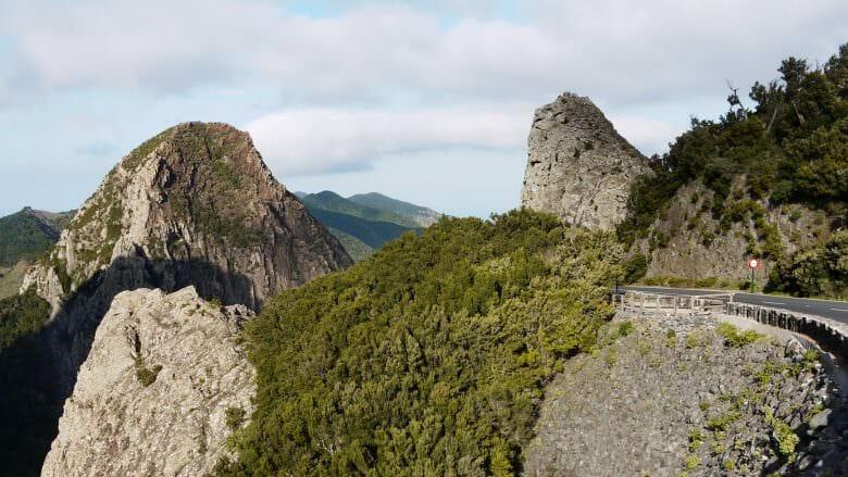 Die Roques im Nationalpark Garajonay