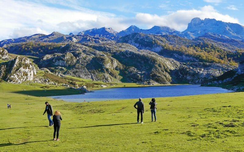 Lago de la Ercina in den Picos de Europa