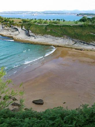 Playa de Mataleñas in Santander