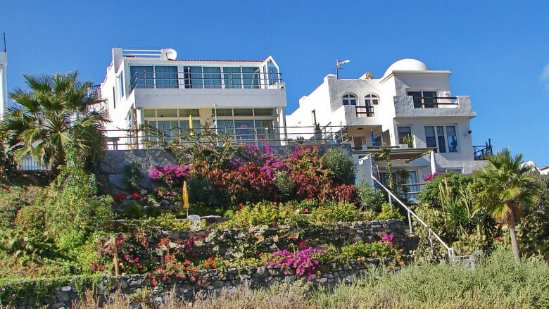 Ferienhäuser mit direktem Strandblick
