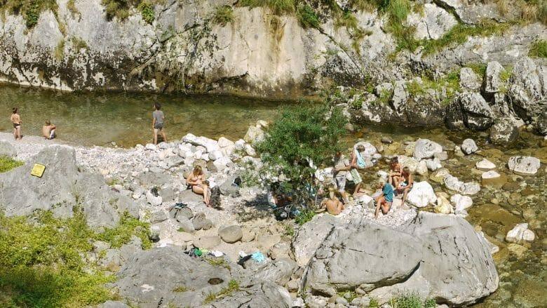 Baden am Rio Cares