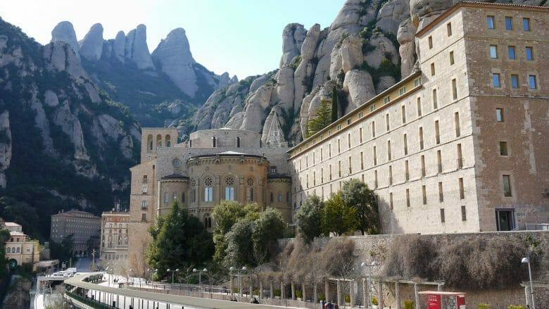 Die Klosteranlage von Montserrat