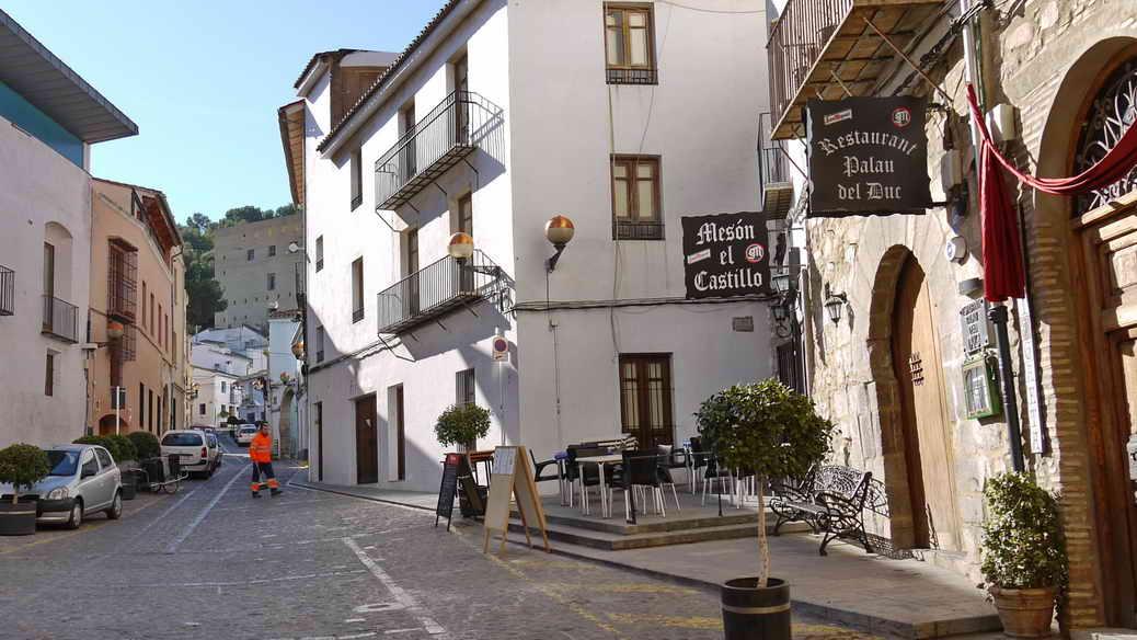 In der Altstadt von Sagunt