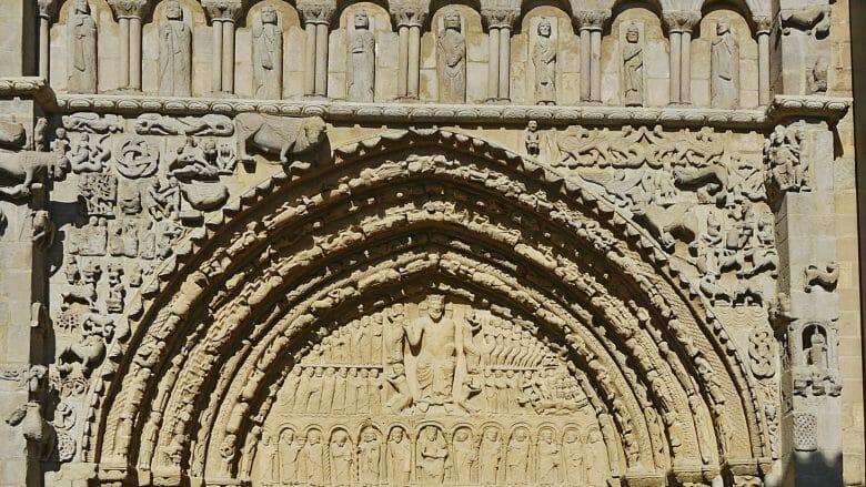Portal der Kirche Santa María la Real in Sangüesa