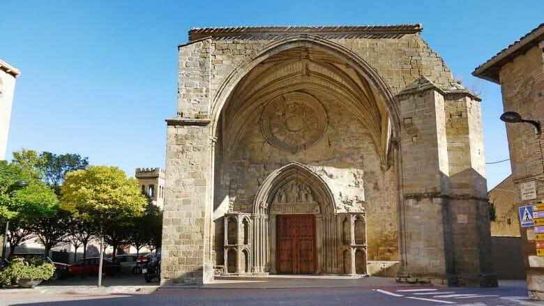 Kirche Santiago el Mayor in Sangüesa