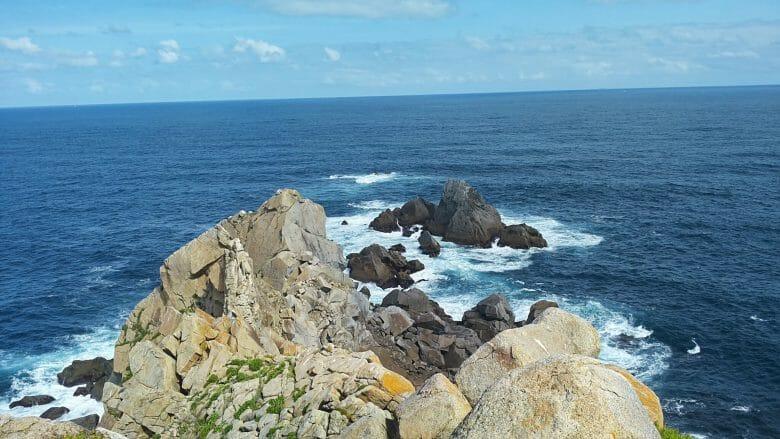 Das Kap Estaca de Bares markiert den nördlichsten Punkt Spaniens
