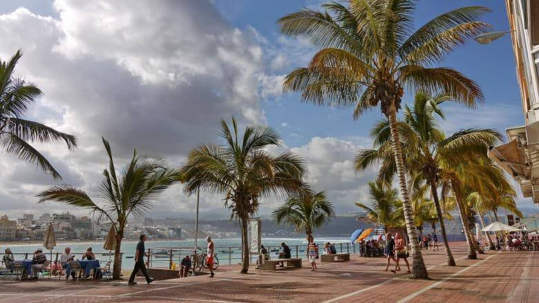 Strandpromenade von Las Palmas de Gran Canaria