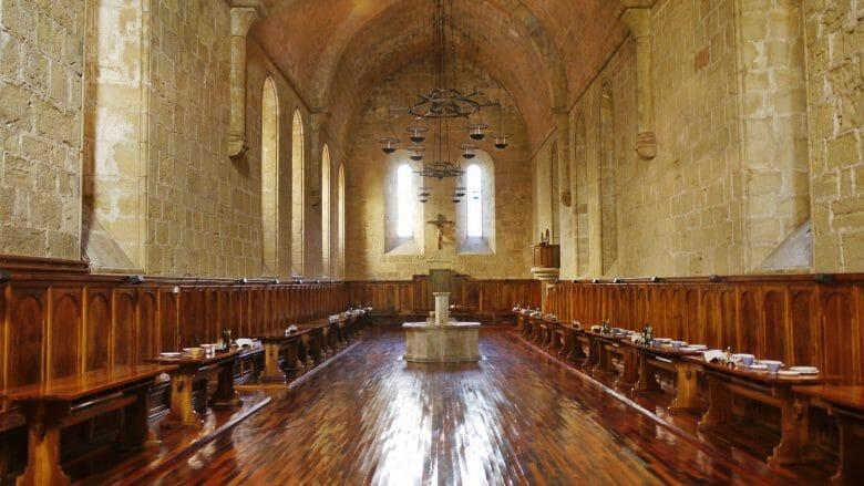 Der klösterliche Speisesaal des Klosters Poblet