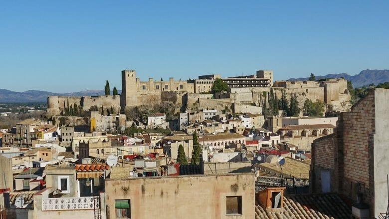 Castell de la Suda mit dem Parador von Tortosa