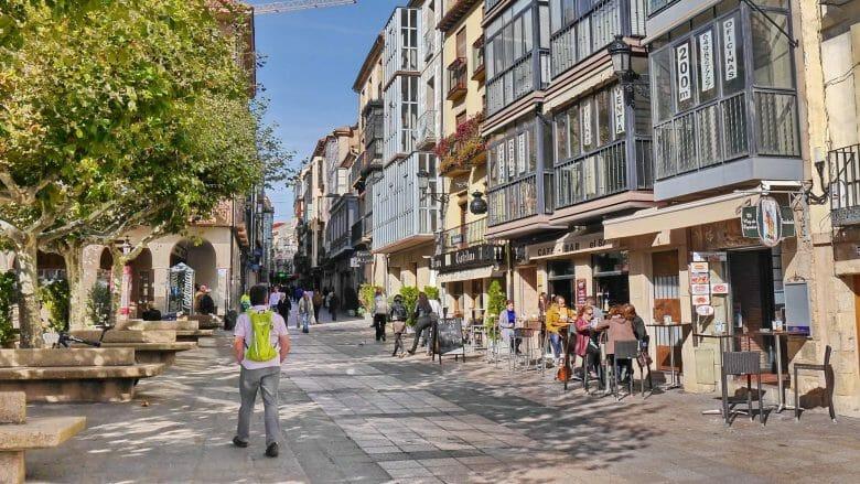 An der Plaza Mayor von Soria