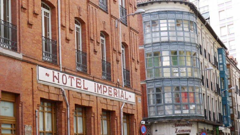 Hotel Imperial, eines der zentralsten Hotels in Vallodolid