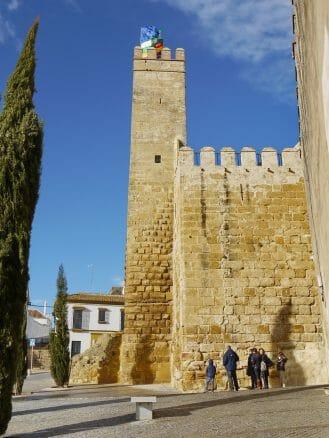 Alcázar Puerta de Sevilla in Carmona