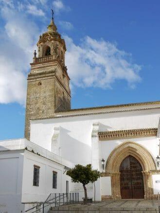 Die Kirche San Bartolomé in Carmona