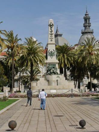 Denkmal an die gefallenen Soldaten im Spanisch-Amerikanischer Krieg 1898, der mit dem Verlust der Kolonien Kuba, Puerto Rico, Guam und der Philippinen endete