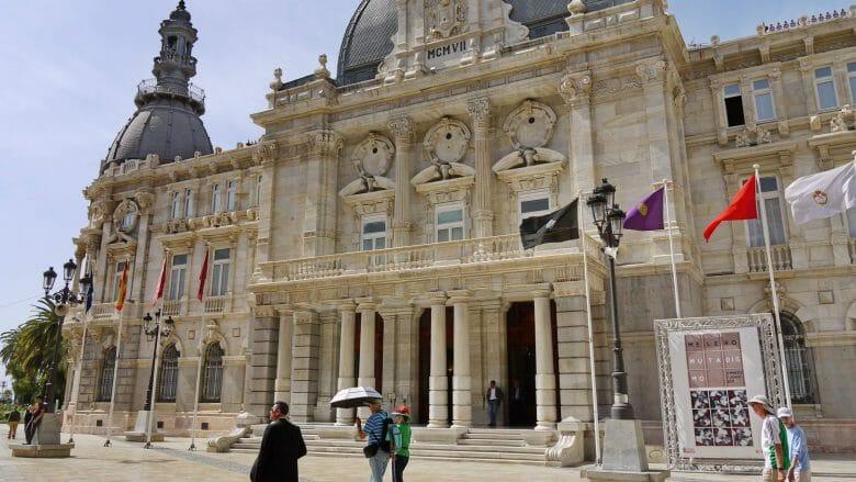 Rathaus von Cartagena, Architekt Tomás Rico, erbaut 1907