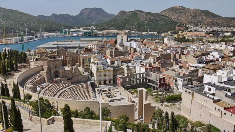 Römisches Theater von Cartagena
