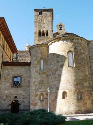 Apsis der Kirche San Salvador de Leyre