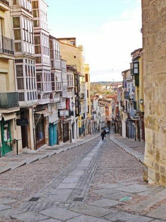 Calle Balborraz in Zamora