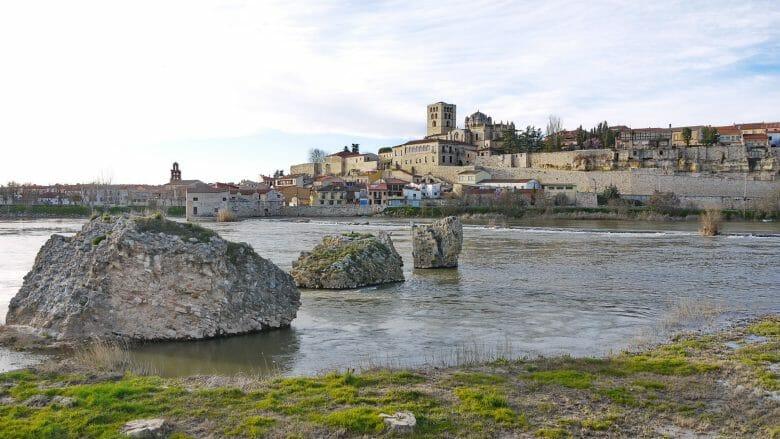 Fluss Duero bei Zamora