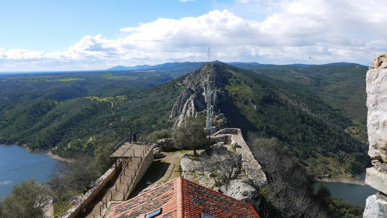 Aussichtsplattform im Nationalpark Monfragüe (Extremadura)