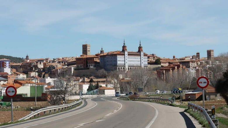 Blick auf die Stadt Teruel