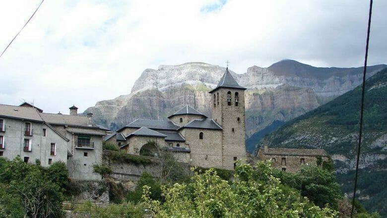 Das Dorf Torla-Ordesa