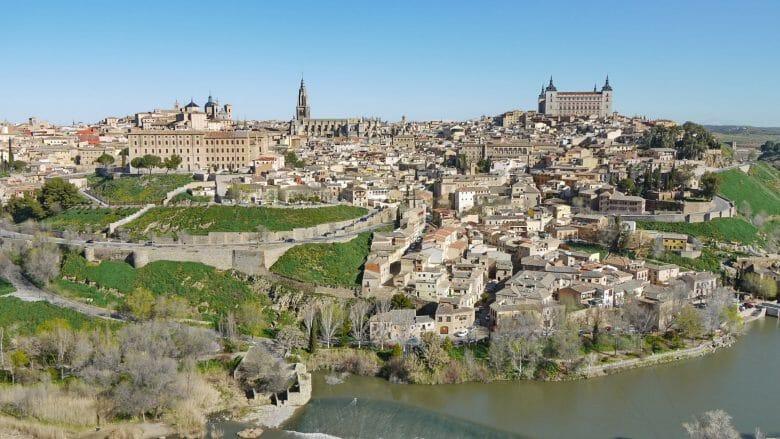 Stadtansicht von Toledo