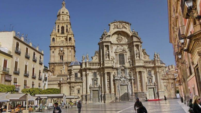 Die Kathedrale von Murcia Santa María