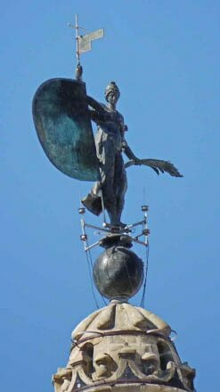 Die Bronzefigur Giraldillo auf der Giralda