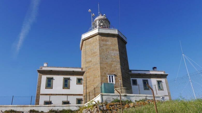 Der Leuchtturm Faro de Fisterra