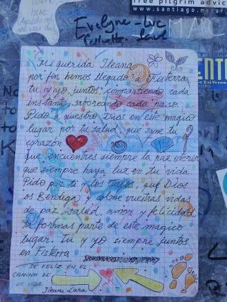 Persönliche Briefe als Hinterlassenschaft