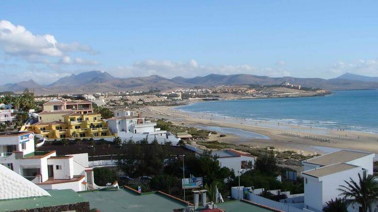 Blick auf Costa Calma und den Strand