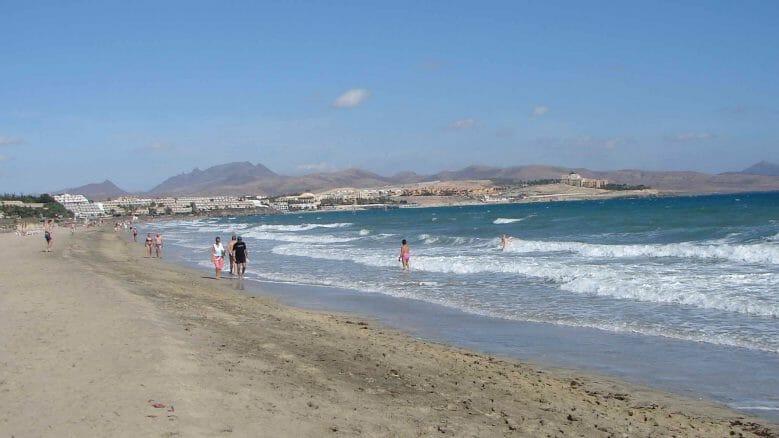 Die Playas de Sotavento sind ideal für lange Strandspaziergänge