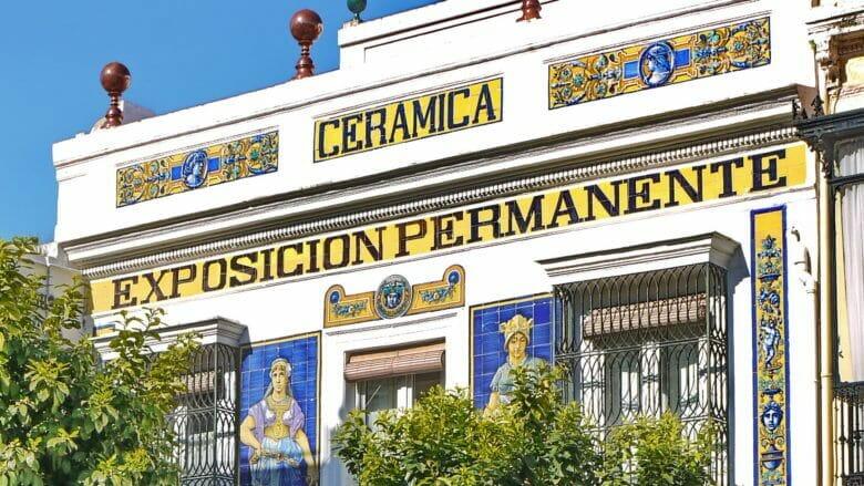 Keramikfabrik Cerámicas Santa Ana in Triana
